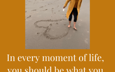 In every moment of life…